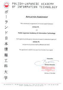 Польсько-Японська Академія Комп'ютерних Технологій - UniverPL