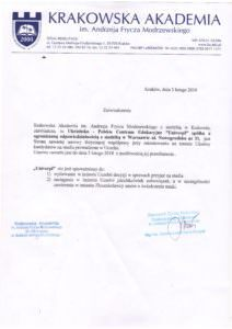 Краківська Академія ім. А.Ф. Моджевського - UniverPL