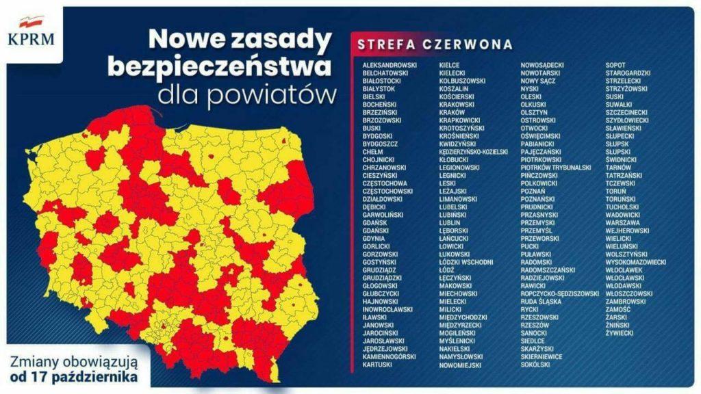 В Польше вводят новые карантинные ограничения - UniverPL