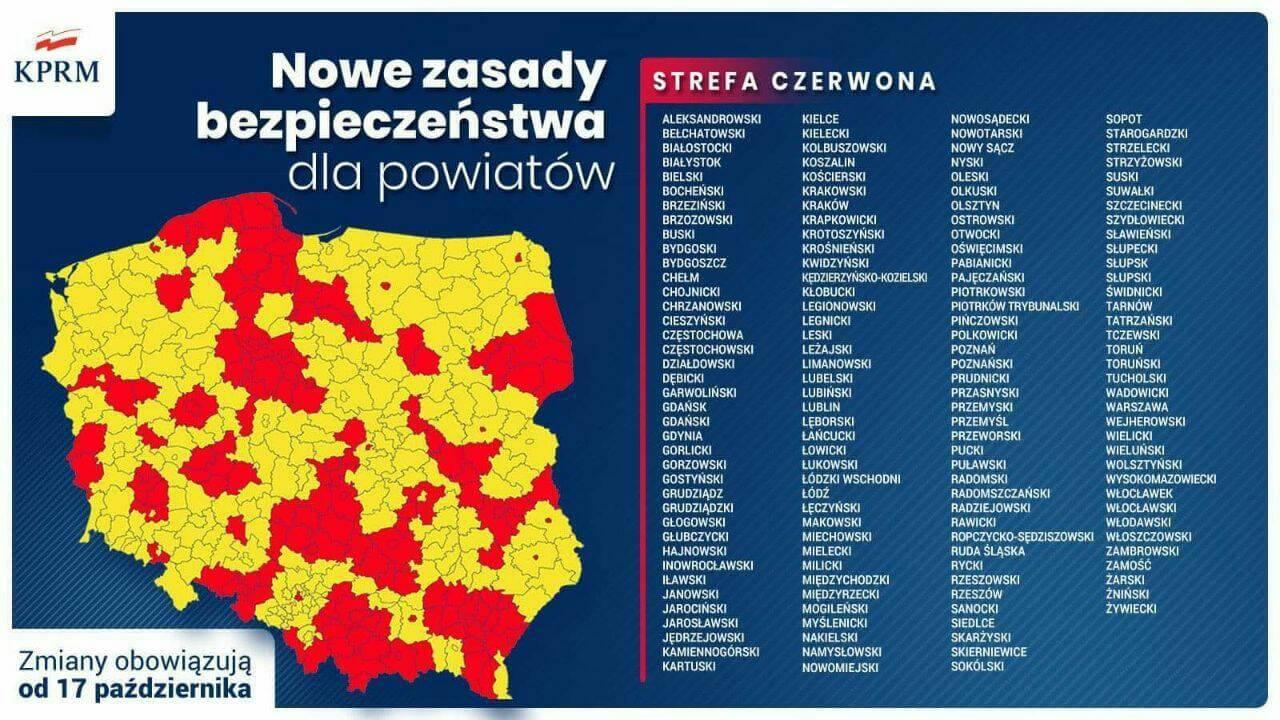 У Польщі вводять нові карантинні обмеження - UniverPL