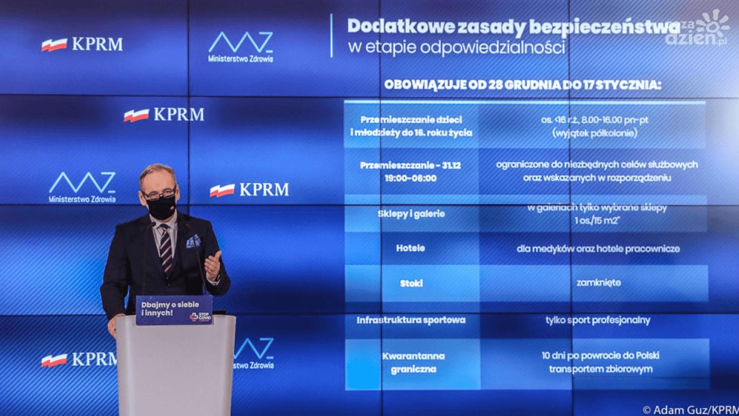 Закрытие торговых центров и запрет выходить на улицу: новые карантинные ограничения в Польше - UniverPL