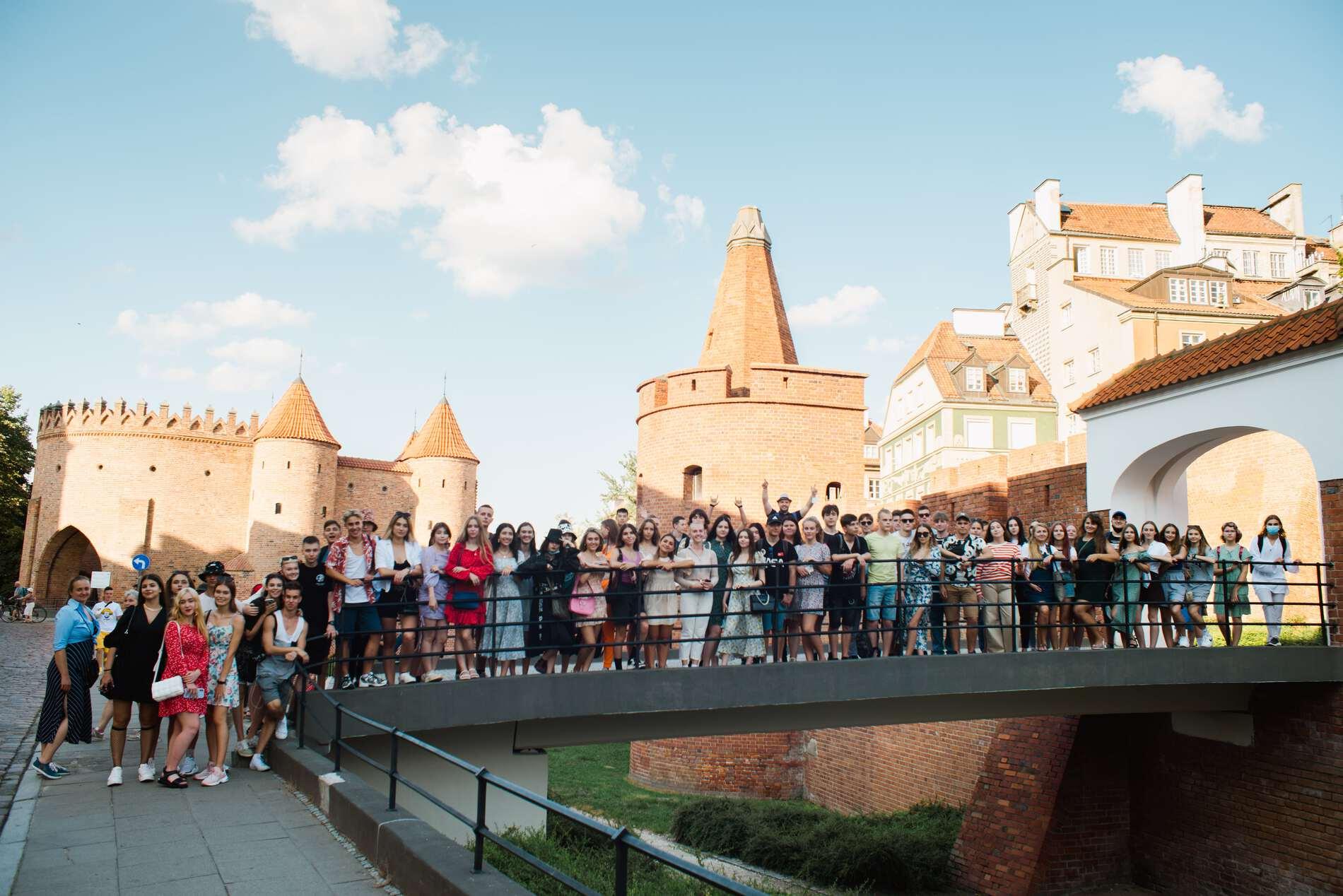 Літній табір у Варшаві: як пройшов перший тиждень навчання - UniverPL
