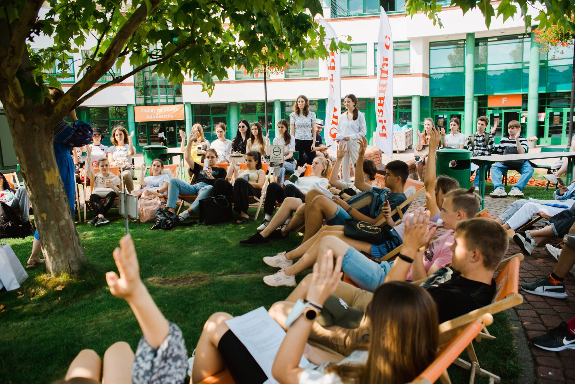 Летний языковой лагерь в Варшаве: отчет первой недели - UniverPL